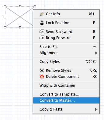 Wireframe Design - Create a Master Component