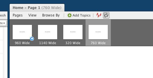 Multiple Designs Per Page