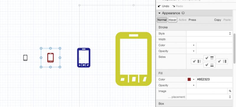 ProtoShare Modern UI Icons