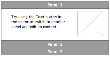 Accordion Panel created from scratch in ProtoShare